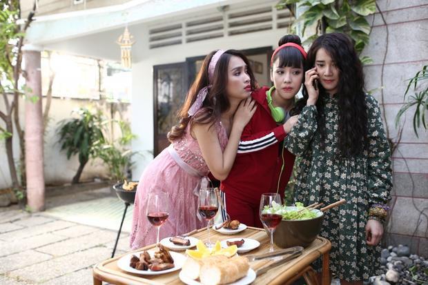 Nét duyên dáng, hài hước của ba cô gái Ái Phương, Puka và Nhã Phương.