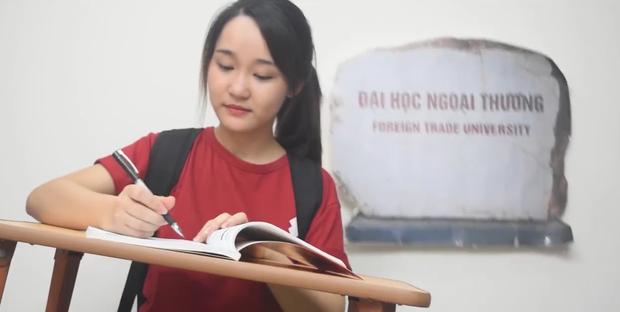 Lê Thùy Linh - sinh viên khoa Tài chính - Ngân hàng trường Đại học Ngoại thương tham gia đóng chính.