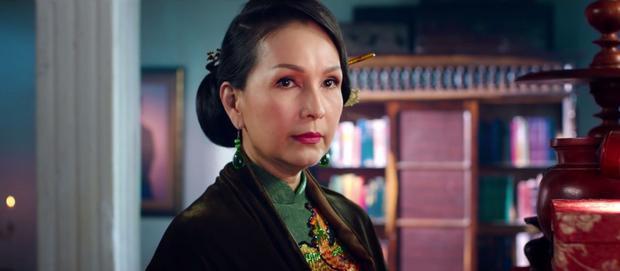 Diễn viên Diễm My trong vai bà Hai Lịnh quyền uy, mẹ chồng của cô Ba Trân.