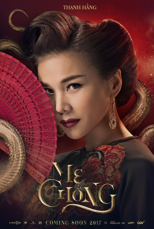 Poster cận cảnh diện mạo Mẹ chồng Thanh Hằng
