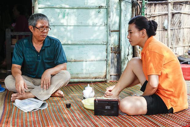 Nghệ sĩ Trung Dân, Cát Phượng trong vai bố mẹ Mai (Diệu Nhi).