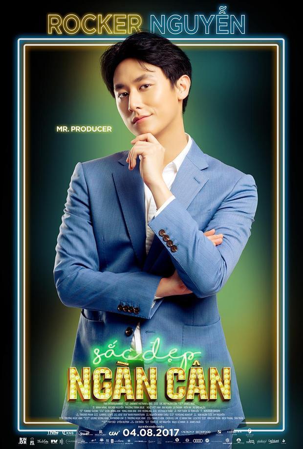 Rocker Nguyễn được coi là phát hiện thú vị của điện ảnh Việt trong mùa hè này.