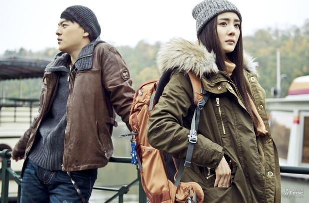 Sáu tháng sau ngày sinh nở, Dương Mịch đã trở lại phim trường với dự án Thành phố tình yêu.