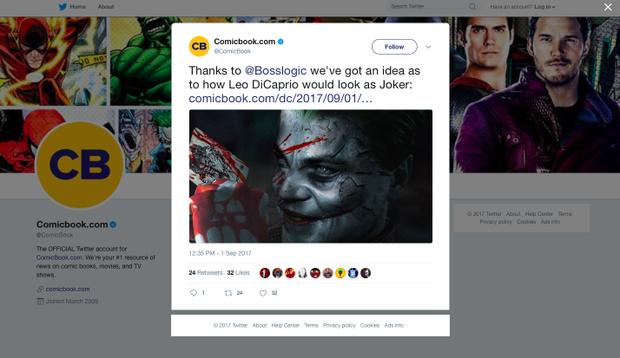 Nếu như Leonardo DiCaprio góp mặt vào The Joker Origin thì sẽ thế nào?