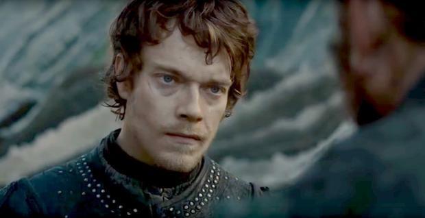 Theon đang trên đường đi tìm Euron.