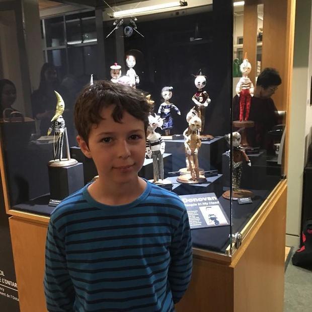 Kinh ngạc những bức tượng điêu khắc được làm từ cậu bé 12 tuổi