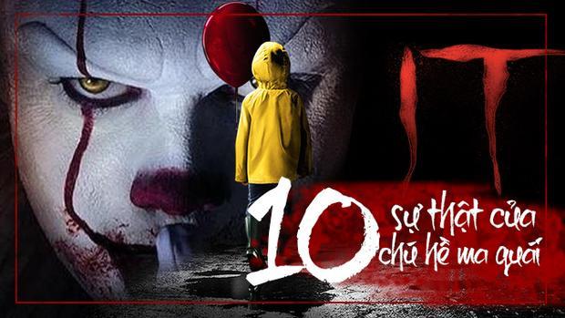 10 sự thật của Chú hề ma quái mà không phải ai cũng biết