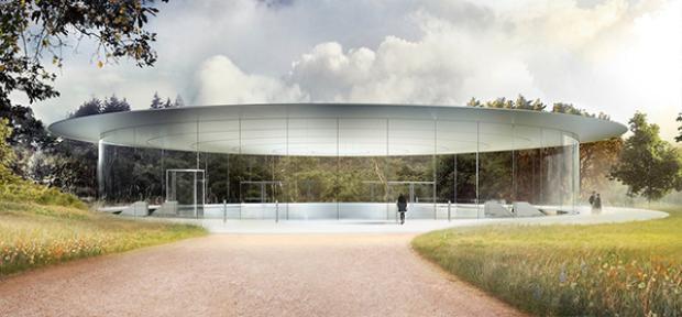 Vè đẹp 'hút hồn' của nhà hát Steve Jobs, nơi sẽ khai sinh ra thế hệ iPhone mới 2017