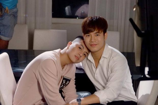 Duy Khánh và Trần Phong - cặp đôi trong phim.