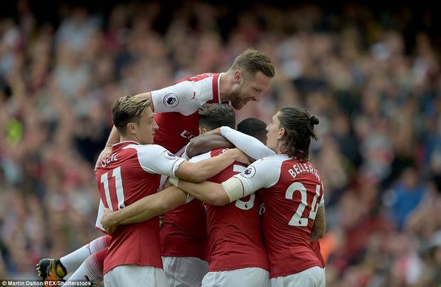 Arsenal trở lại mạch thắng sau chuỗi 2 trận thua liên tiếp.