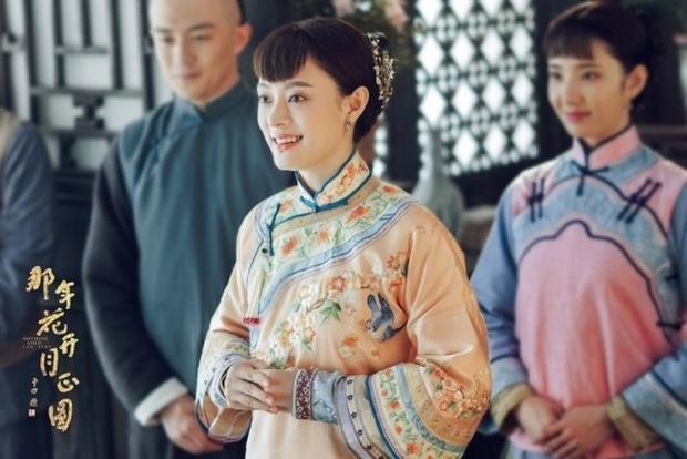 Châu Doanh (Tôn Lệ thủ vai) trong Năm ấy hoa nở trăng vừa tròn.