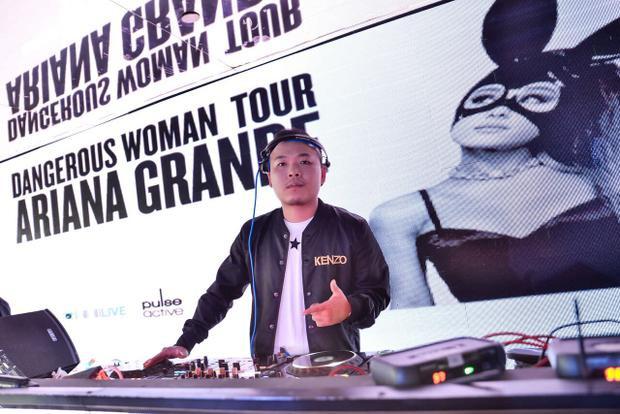 """Anh cũng là người từng được """"chọn mặt gửi vàng"""" trở thành DJ chính thức của Ariana Grande Tour tại Việt Nam vừa qua."""
