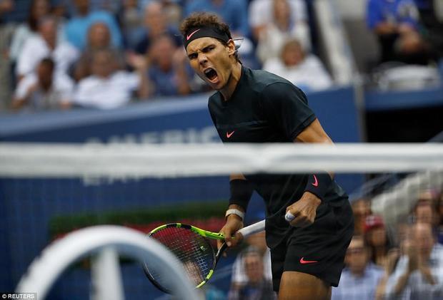 Set 2 và set 3, Nadal hóa giải hoàn toàn các pha giao bóng sấm sét của đối thủ cao kều. Tay vợt người Tây Ban Nha giữ thế chủ động hoàn toàn và tận dụng tốt các cơ hội để bẻ game giao bóng của đối thủ qua đó giành chiến thắng 6-3 và 6-4.