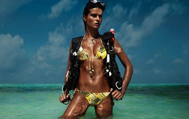 """""""Tập đoàn thời trang H&M đang tạo ra ý tưởng về một sắc đẹp chết người, nhất là đối với các cô gái trẻ"""", Hội Ung thư Thụy Điển phê bình."""