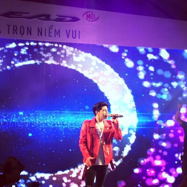 Noo Phước Thịnh có mặt trong một sự kiện ở Hà Nội.