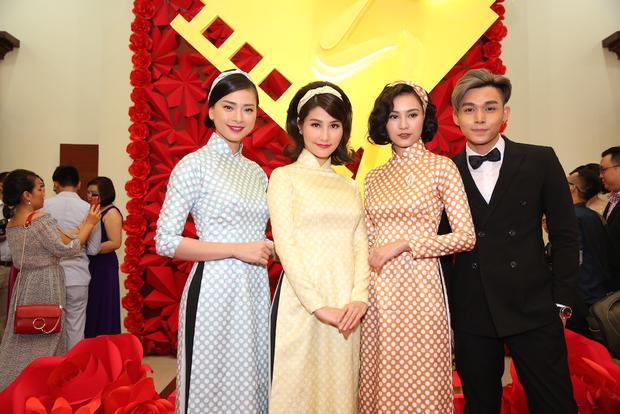 Ngô Thanh Vân, Diễm My 9x, Ninh Dương Lan Ngọc và Jun Phạm.