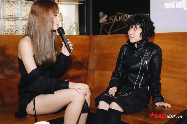 Tiên Tiên chia sẻ cảm xúc hào hứng khi lần đầu tham gia chương trình.