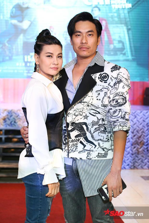 Cặp đôi Kiều Minh Tuấn - Cát Phượng.