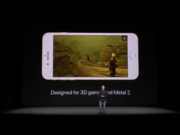 Công nghệ thực tế tăng cường AI cũng được tích hợp trên bộ đôi iPhone 8/8 Plus mới