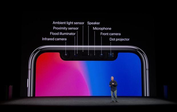 Hệ thống cảm biến cùng camera mặt trước được chăm chút tỉ mỉ