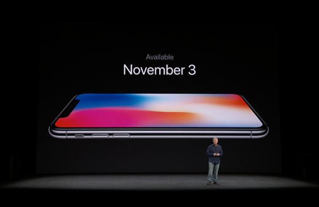 và thời gian mở bán mẫu iPhoneX