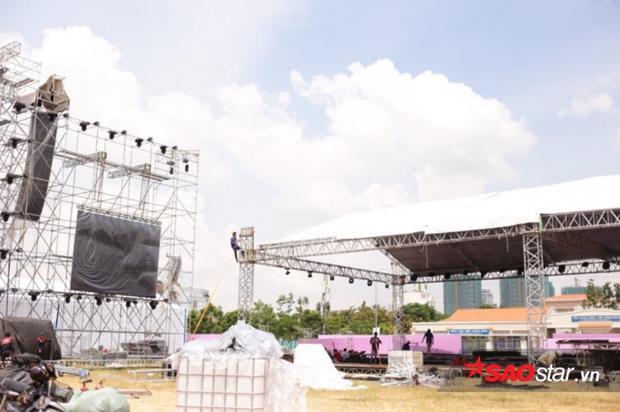 Khu vực đặc biệt có mái che trong khuôn khổ World Tour tại Việt Nam.