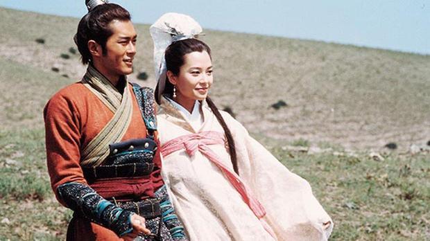 Cổ Thiên Lạc và Quách Thiện Ni trong một cảnh phim