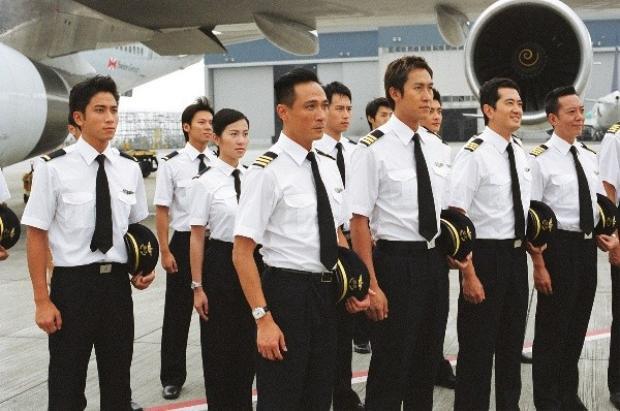 Các diễn viên trong tạo hình phi công