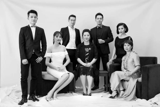 Các thành viên ban giám khảo Hoa hậu Hoàn vũ Việt Nam 2017.