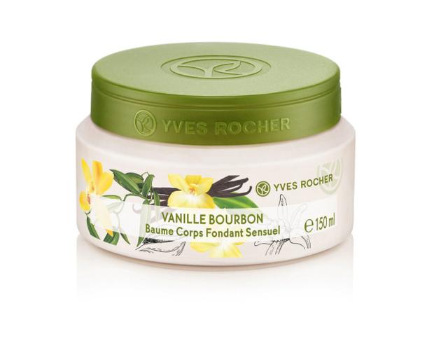 Kem dưỡng thể Yves Rocher Vanille Bourbon Sensual Silky chứa thành phần có nguồn gốc hoàn toàn từ thiên nhiên giúp nuôi dưỡng da từ sâu bên trong