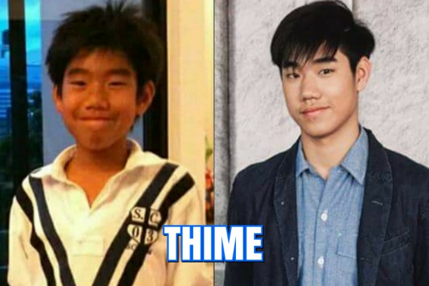 """Thime - Team Moo Asava sở hữu thân hình chuẩn """"soái ca"""" ở tuổi 16."""