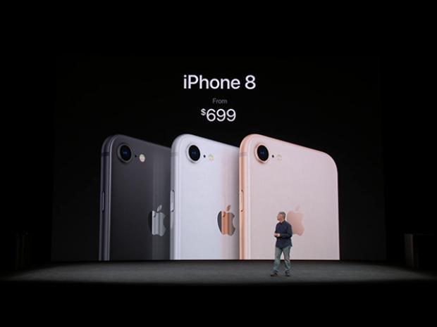 Một trong những lợi thế lớn nhất của iPhone 8 so với đàn anh chính là mức giá bán.