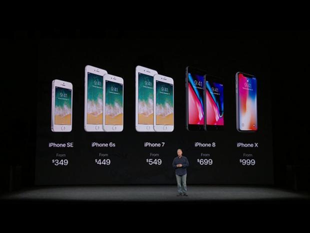 Tuy nhiên giá bán của iPhone X lại thuộc loại 'đắng' nhất từ trước đến giờ trong lịch sử iPhone.