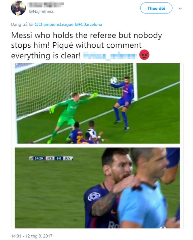 Messi được trọng tài ưu ái đến khó hiểu