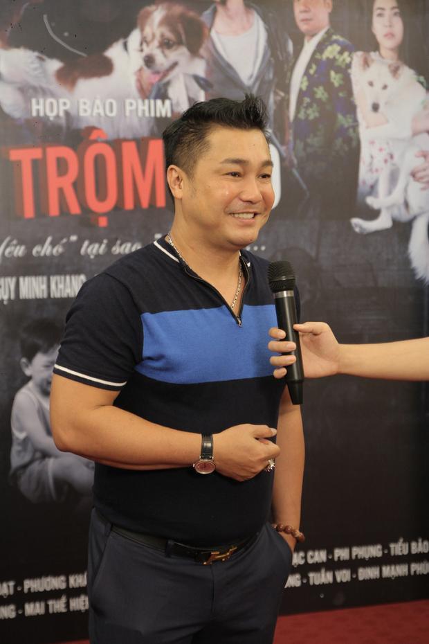 Nam diễn viên Phạm Công - Cúc Hoa chia sẻ niềm vui khi trở lại màn ảnh trong một bộ phim đầy ý nghĩa.