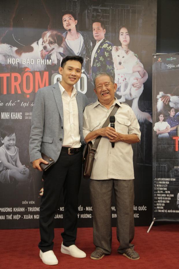 Diễn viên Mạc Can và nhà sản xuất Nguyễn Đạt.