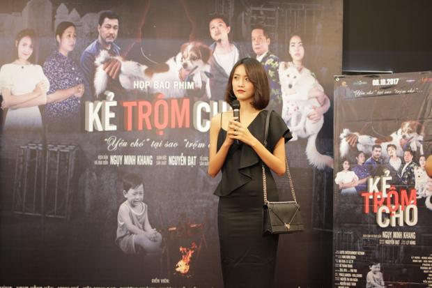Tham gia vào phim này, Trương Mỹ Nhân mong muốn pháp luật sẽ có những biện pháp mạnh với những kẻ trộm chó.