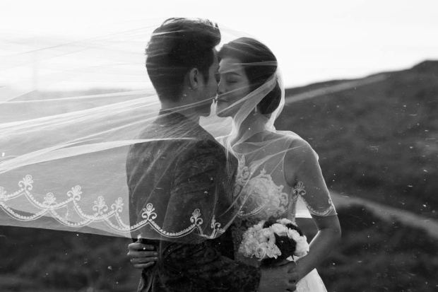 Trúc Nguyễn và Sỹ Mạnh mới tổ chức đám cưới hồi tháng 7 vừa qua.