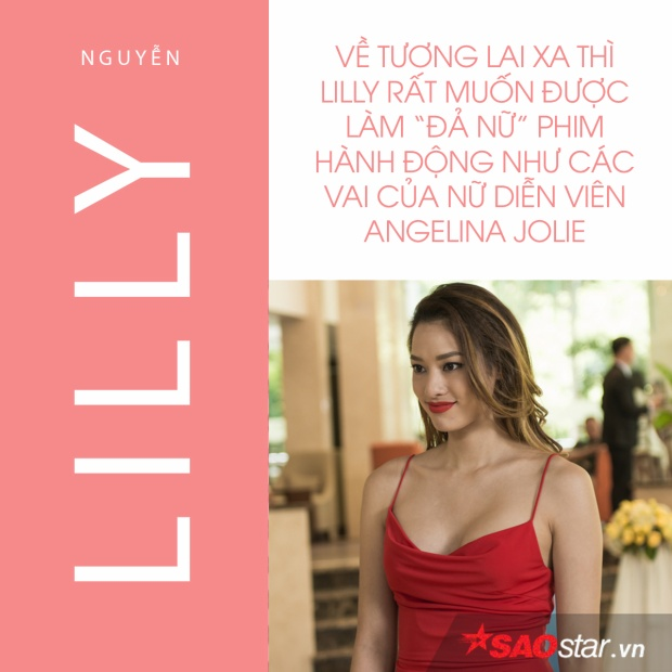Lilly Nguyễn: Tôi muốn được đóng các vai đả nữ phim hành động như Angelina Jolie