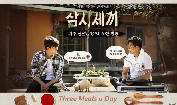 Three Meals a Day mùa đầu tiên lên sóng với sự tham gia của Taeyeon (2pm) và diễn viên Lee Seo Jin.