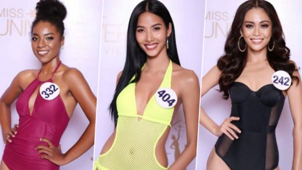 """Hoàng Thùy """"vượt mặt"""" Mâu Thủy giành giải thưởng đầu tiên của Hoa hậu Hoàn vũ Việt Nam 2017."""