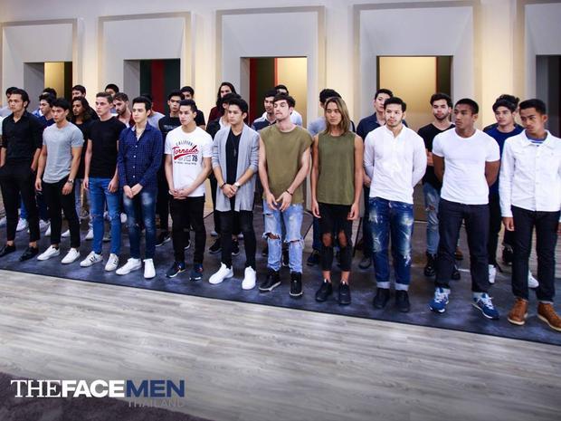 Dàn thí sinh đa quốc tịch cực chất của The Face Men.