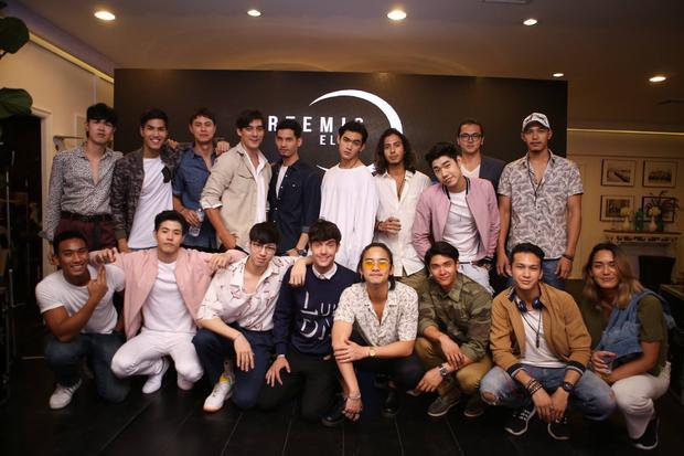 The Face Men có đến 18 thí sinh thay vì 15 như các mùa The Face trước.