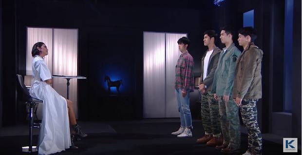 """Chưa có khi nào The Face có đến 4 thí sinh """"chen chúc"""" trong phòng loại trừ như The Face Men."""