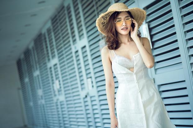 Phương Chi khoe vẻ đẹp tinh khôi, tiết lộ tăng hơn 5 kg sau khi rời The Face