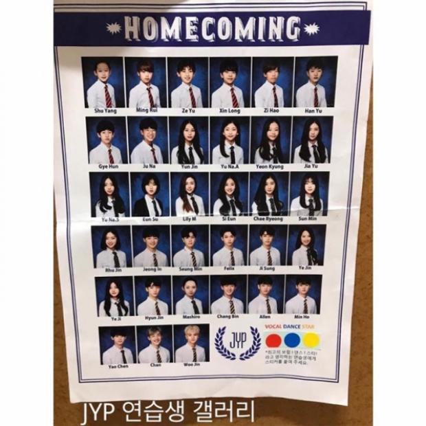 Một vài thực tập sinh được đự đoán là những thành viên không được debut trong boygroup Trung ra mắt hồi tháng 8 của JYP.