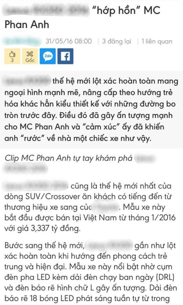 MC Phan Anh gọi anti-fan là lũ khốn, đanh thép đáp trả khi bị cho giấu nhẹm 24 tỷ đồng từ thiện làm của riêng