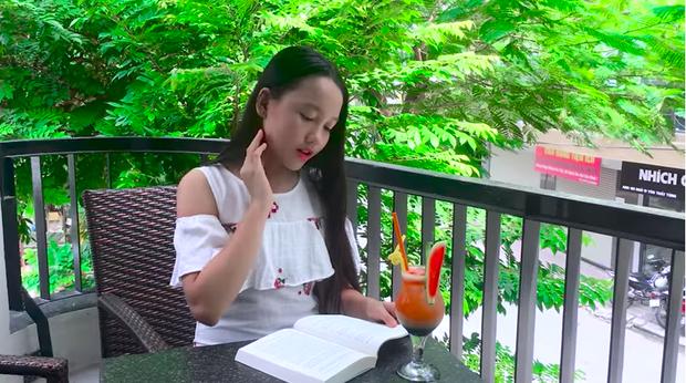 Bùi Hà My trong MV cover ca khúc Em gái mưa.