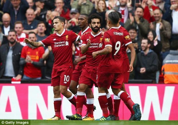 Liverpool hòa thất vọng trong ngày Coutinho trở lại