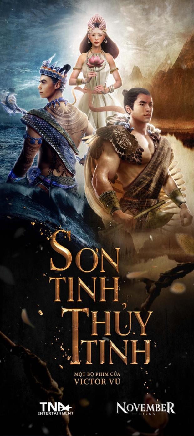 Poster 3D của Sơn Tinh Thủy Tinh.